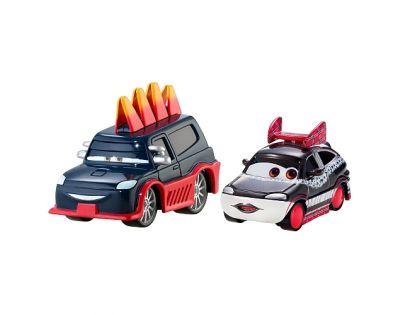 Mattel Cars 2 Autíčka 2ks - Yokoza a Chisaki