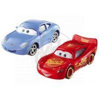 Mattel Cars 2 Autíčka 2ks - McQueen a Sally