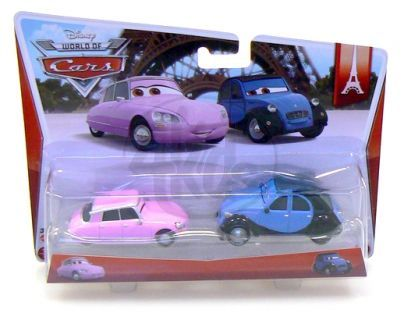 Mattel Cars 2 Autíčka 2ks - Nancy a John