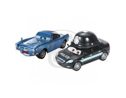 Mattel Cars 2 Autíčka 2ks - Speedcheck a Finn McMissile
