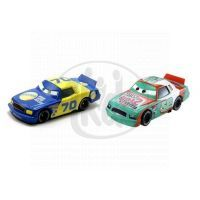 Mattel Cars 2 Autíčka 2ks - Sputter Stop a Gasprin