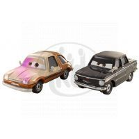 Mattel Cars 2 Autíčka 2ks - Tubbs Pacer a Tolga Trunkov
