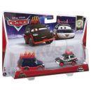 Mattel Cars 2 Autíčka 2ks - Yokoza a Chisaki 2