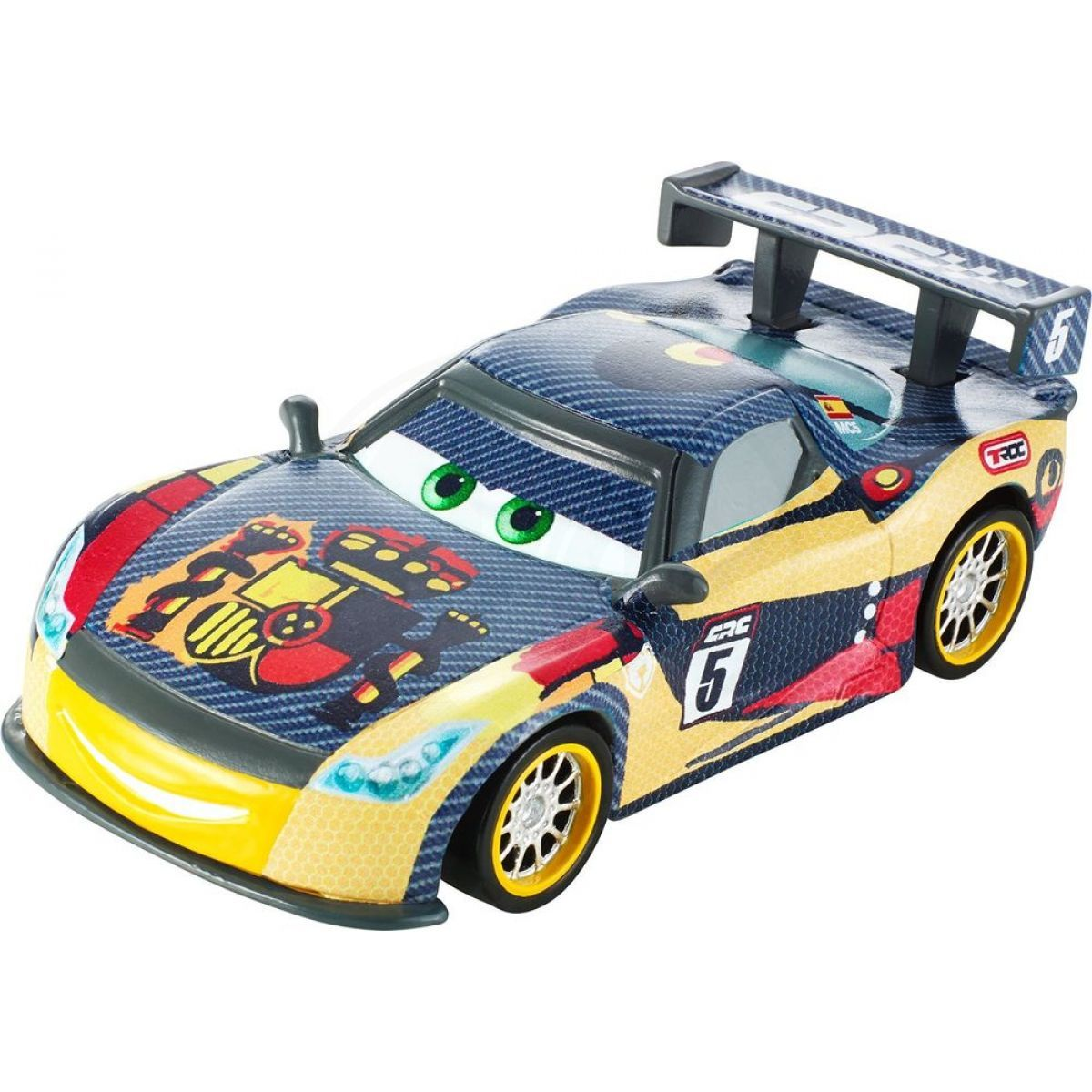 mattel cars carbon racers auto miguel camino 4kids. Black Bedroom Furniture Sets. Home Design Ideas