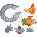 Mattel Cars Set Kardanová Lhota - Cozy Cone Spiral Rampway 5