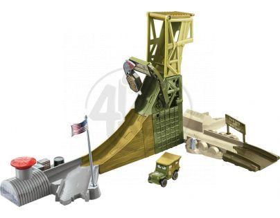 Mattel Cars Set Kardanová Lhota - Sarge's Stuntin