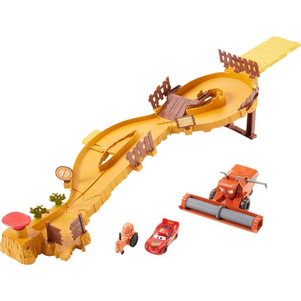 Cars Útěk před Frankem (Mattel CDR37)