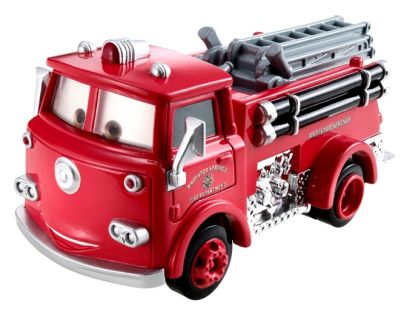 Mattel Cars Velká auta - Red Fire Truck
