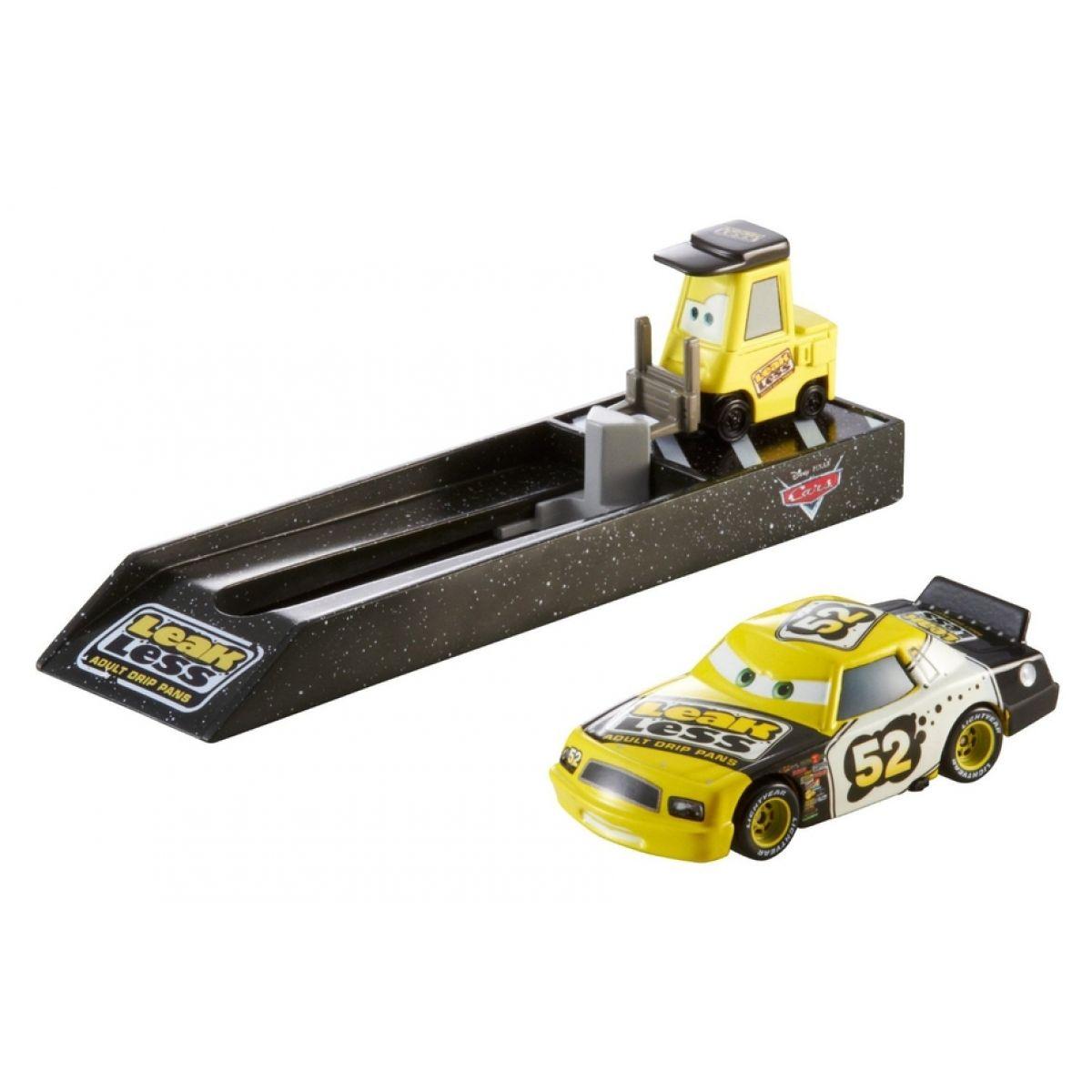 CARS Vystřelovač s autíčkem Mattel Y7886 - Leakless No. 52