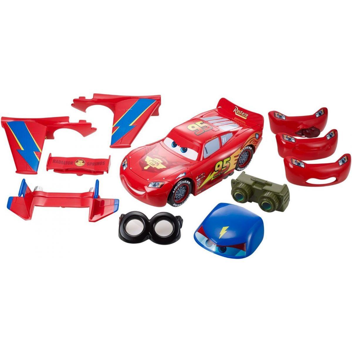 Mattel Cars Vytuněný Blesk McQueen