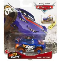 Mattel Cars XRS odpružený závoďák Barry DePedal 6