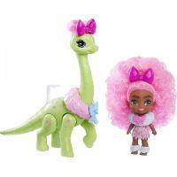 Mattel Cave Club panenka dino se zvířátkem Diva Tot a Dino