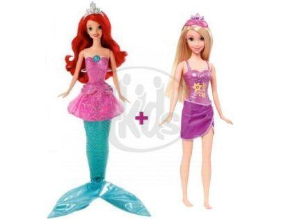Mattel Disney princess Ariel + princezna zdarma - Ariel   Locika