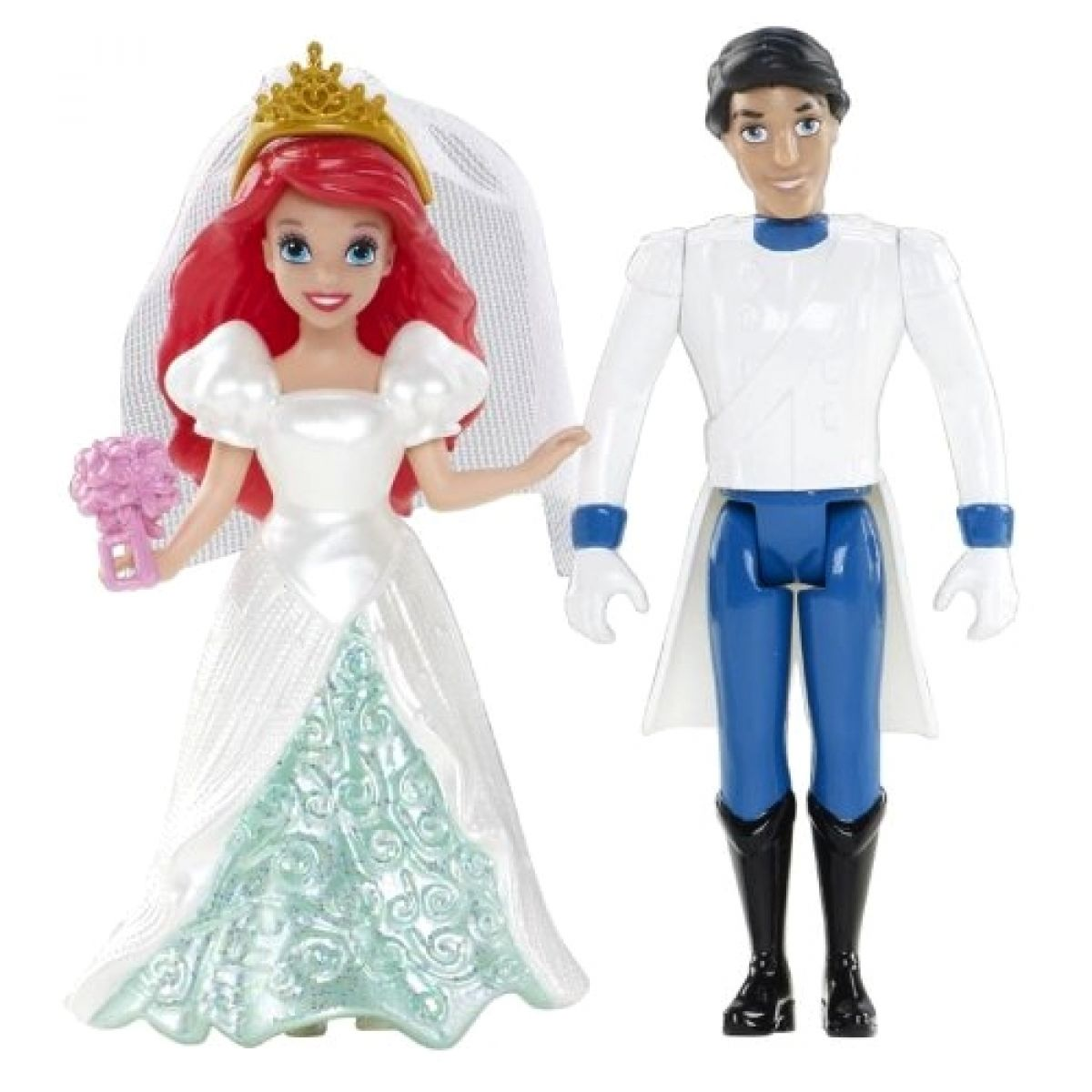 Mattel Disney Princess Svatební party - Ariel s princem Erikem