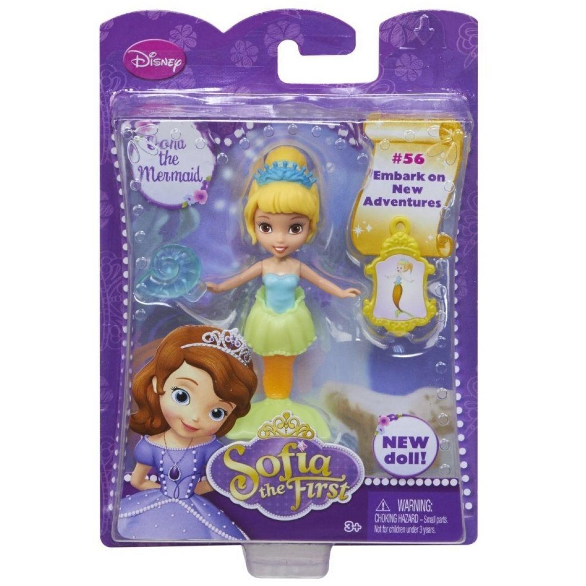 Mattel Disney Sofie s doplňky - Mořská panna Oona