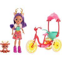 Mattel Enchantimals herní set na kolech koloušek