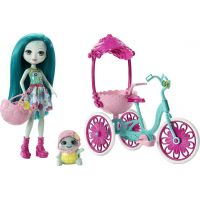 Mattel Enchantimals herní set na kolech Želvička