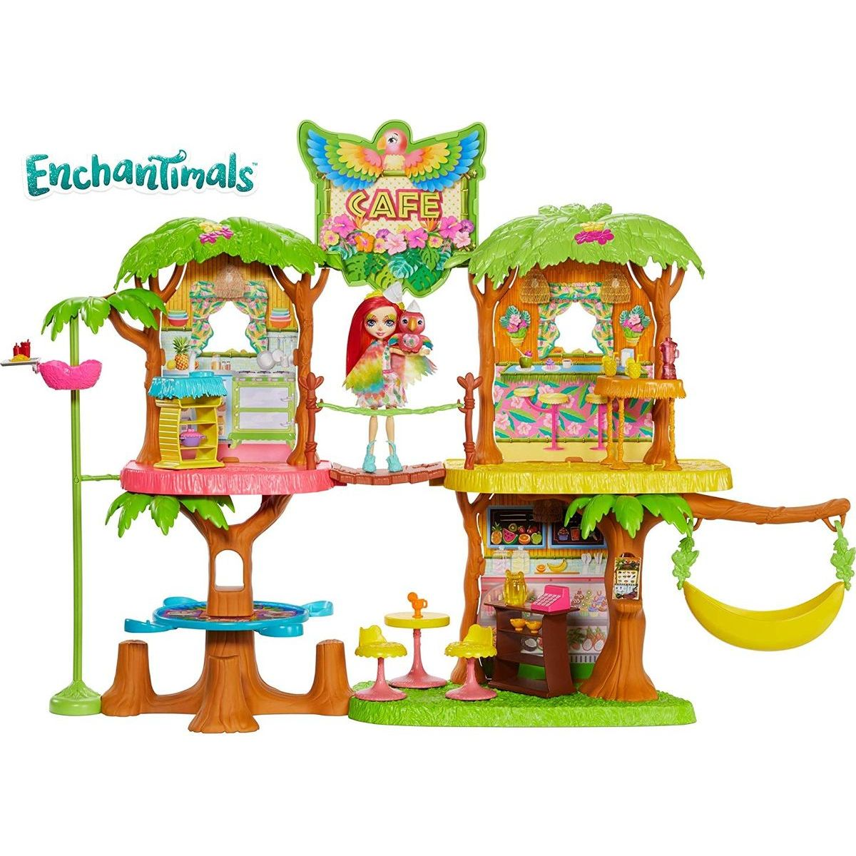 Mattel Enchantimals kavárna v džungli