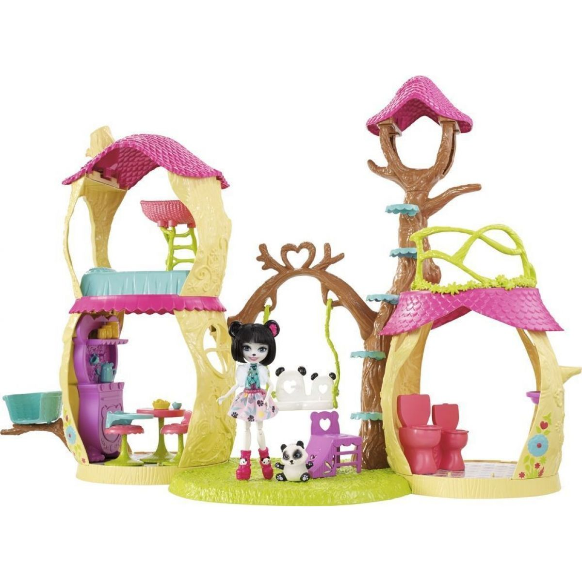Mattel Enchantimals panda herní set