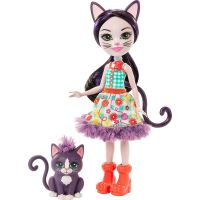 Mattel Enchantimals panenka a zvířátko Ciesta Cat a Climber