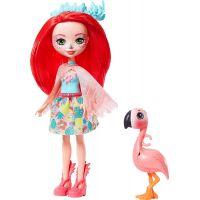 Mattel Enchantimals panenka a zvířátko Fanci Flamingo a Swash