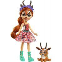 Mattel Enchantimals panenka a zvířátko Gabriela Gazelle a Racer