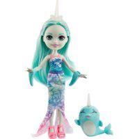 Mattel Enchantimals panenka a zvířátko Naddie Narwhal a Sword