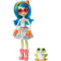 Mattel Enchantimals panenka a zvířátko Tamika Tree Frog a Burst
