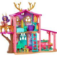 Mattel Enchantimals panenka Danessa jelínková s domečkem herní set
