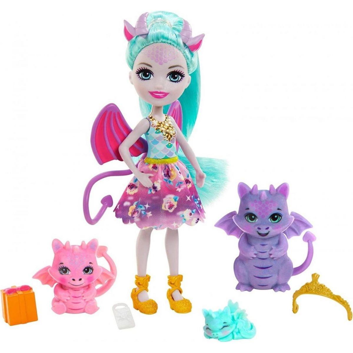Mattel Enchantimals rodinka Draci