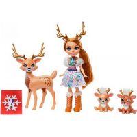 Mattel Enchantimals rodinka jeleni