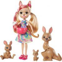 Mattel Enchantimals rodinka klokanů