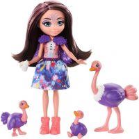 Mattel Enchantimals rodinka pštrosů