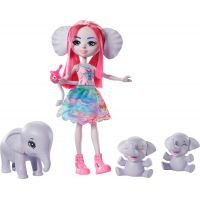 Mattel Enchantimals rodinka slonů