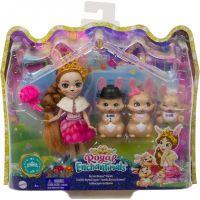 Mattel Enchantimals rodinka Zajíci 4