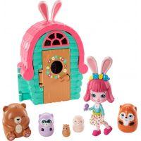 Mattel Enchantimals tajné útočiště nejlepších přátel Bree Bunny Cabin