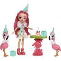 Mattel Enchantimals tématické balení Plameňák