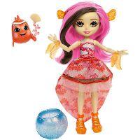 Mattel Enchantimals Vodní svět Panenka a zvířátko Clarita Clownfish a cackle