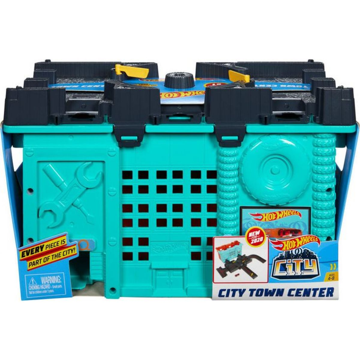 Mattel Hot Wheels city dráhy v boxíku