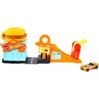 Mattel Hot Wheels City Postav město Hamburger