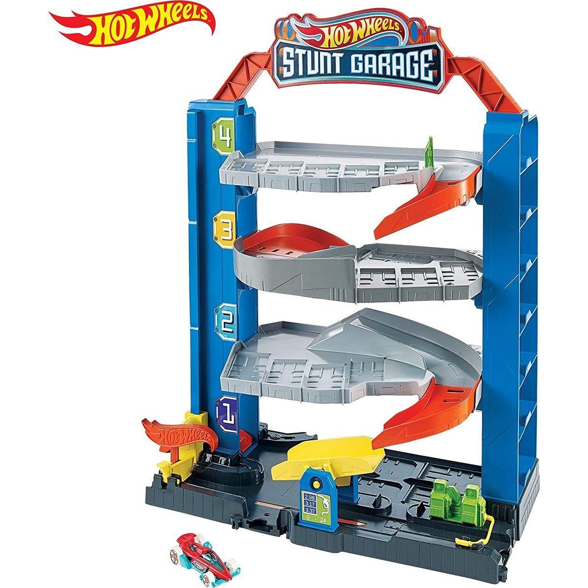 Mattel Hot Wheels city prenosná garáž