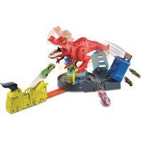 Mattel Hot Wheels city T-Rex řádí 2