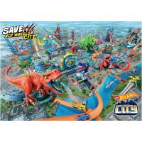 Mattel Hot Wheels city T-Rex řádí 3