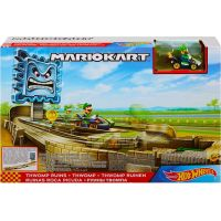 Mattel Hot Wheels Mario Kart závodní dráha odplata Thwomp Ruins