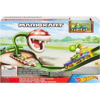 Mattel Hot Wheels Mario Kart závodní dráha odplata Piranha Plant Slide
