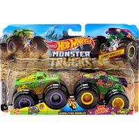 Mattel Hot Wheels Monster trucks demoliční duo A51 Pathol a Test Subject