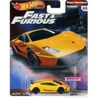 Mattel Hot Wheels prémiové auto Rychle a zběsile Lamborghini Gallardo LP 570-4 Superleggera