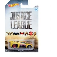 Mattel Hot Wheels tématické auto Justice League Bassline