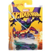 Mattel Hot Wheels tématické auto Marvel Spiderman Drift King