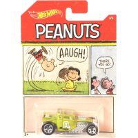 Mattel Hot Wheels tématické auto Peanuts Bone Shaker